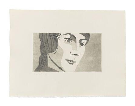 Alex Katz, 'June Ekman's Class: Timmie', 1972