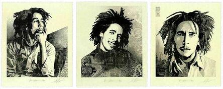 Shepard Fairey, 'Bob Marley set of 3', 2021