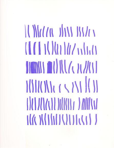 Mirtha Dermisache, 'Sin título (Texto)', ca. 1972