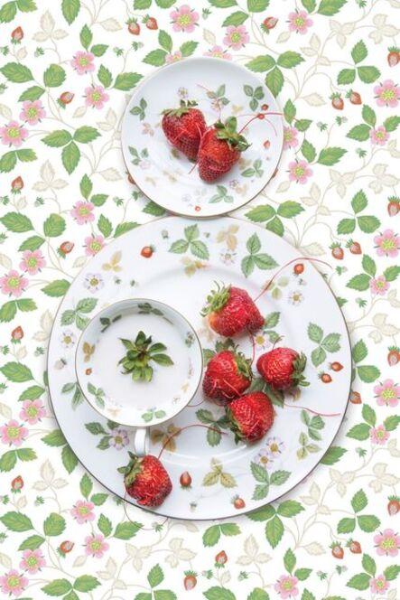 JP Terlizzi, 'Wedgwood Wild Strawberry with Strawberry', 2019