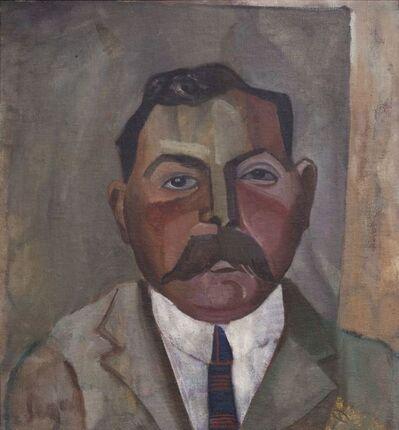 Lasar Segall, 'Retrato de Homem', 1919