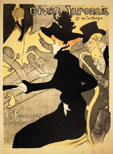 Henri de Toulouse-Lautrec, 'Divan Japonais', 1999-2019