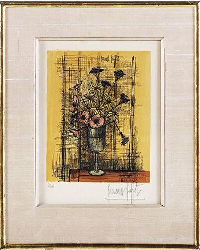 Bernard Buffet, 'Still Life With Flowers'