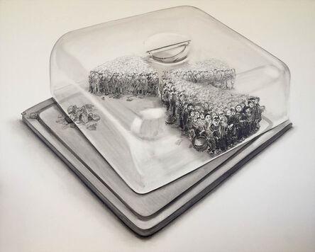 Chao Lu, 'The left cake', 2015