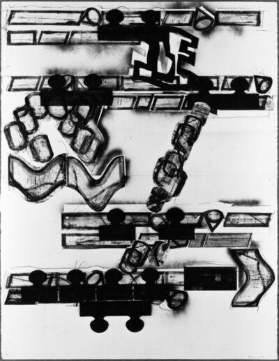 Barry Le Va, 'Plan View for Floor Sculpture', 1991