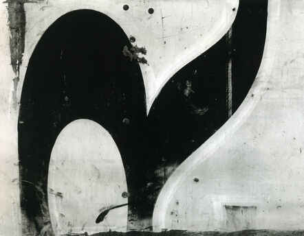 "Aaron Siskind, 'Chicago ""R""', 1949"