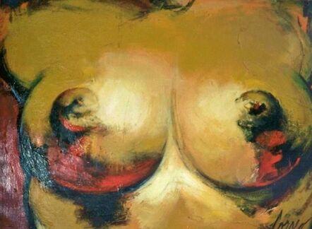 CORNO, 'Woman torso on red', ca. 1998
