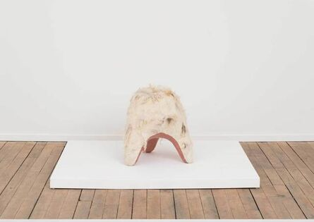 Tanya Aguiñiga, 'Swaddle Stool (Underbelly)', 2015