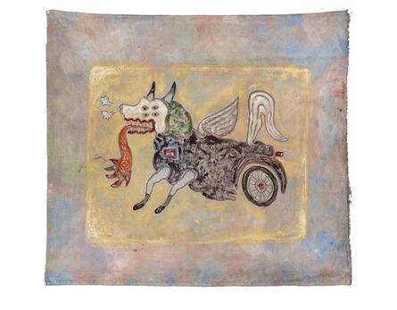 Heri Dono, 'The Flying Dog', 2015