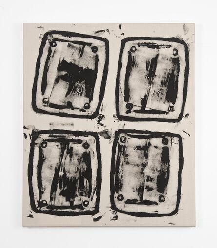 Gerald Ferguson, '4 Ashcans', 2006