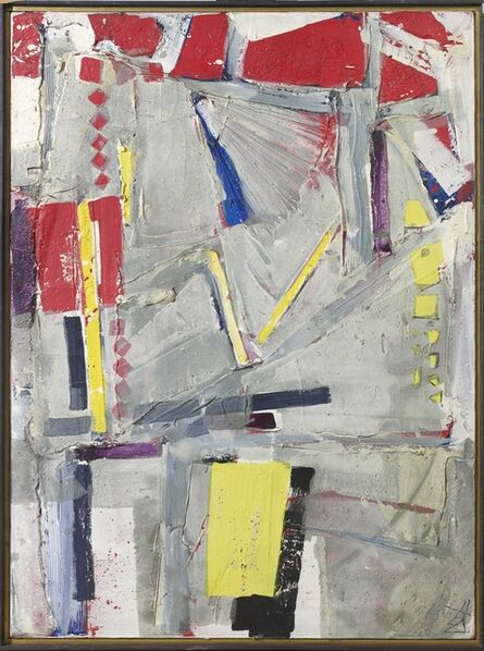 Kokuta Suda 須田 剋太, 'Sakuhin B (Work B)', 1963