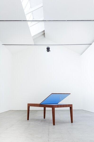 Alberto Garutti, 'Tavolo con colore nascosto', 2014
