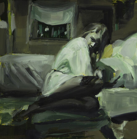 Nadezda, 'Etude in Witch Green', 2017