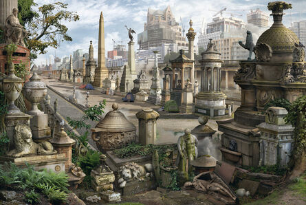Emily Allchurch, 'Ghost Towers', 2018