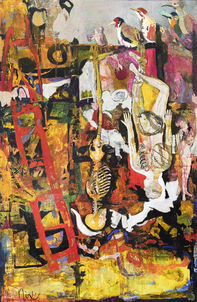 Patricia Nix, 'The Hanged Man (Tarot)', 2001