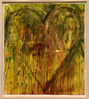 Jim Dine, 'Large Heart, Summer No. 1', 2007