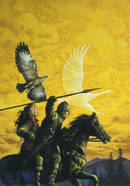 Ciruelo Cabral, 'True Knight', 1994