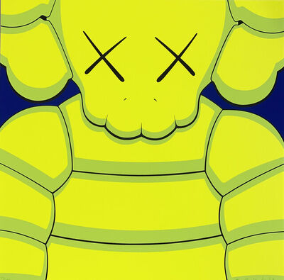 KAWS, 'What Party (Yellow Edition)', 2020