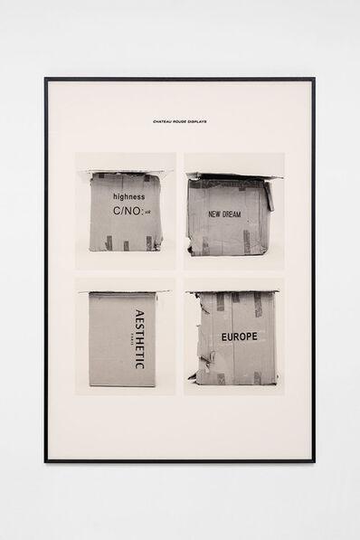 Jojo Gronostay, 'Chateau Rouge Displays I', 2020
