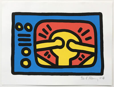 Keith Haring, 'UNTITLED (C)', 1987