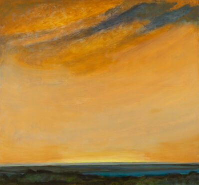 Jane Wilson (1924-2015), 'October: Watermill ', 1995