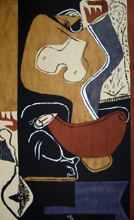 Le Corbusier, 'Femme a la Main Levee', 1954