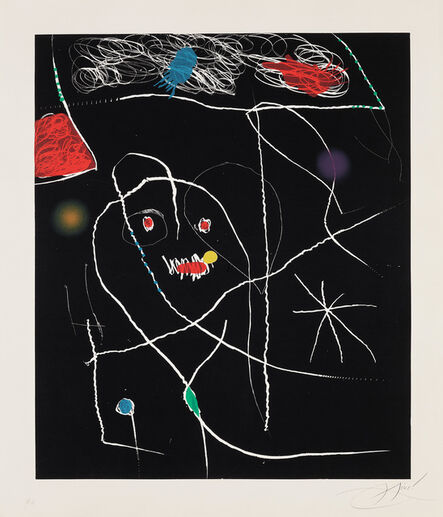 Joan Miró, 'Untitled, plate V from El Pi de Formentor (The Pine of Formentor) (D. 942; C. 217)', May 1905