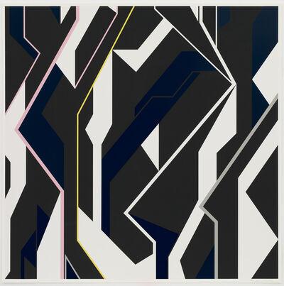 Sarah Morris, 'Vertical Power 2', 2018