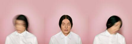 "Marina Abramović, '""The Current, triptych""', 2015"