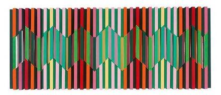 Juvenal Ravelo, 'Fragmentacion de la luz el color', 2016