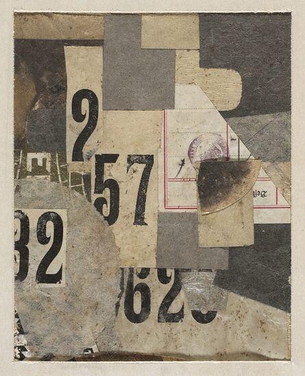 Kurt Schwitters, 'Mz 426 Figures', 1922