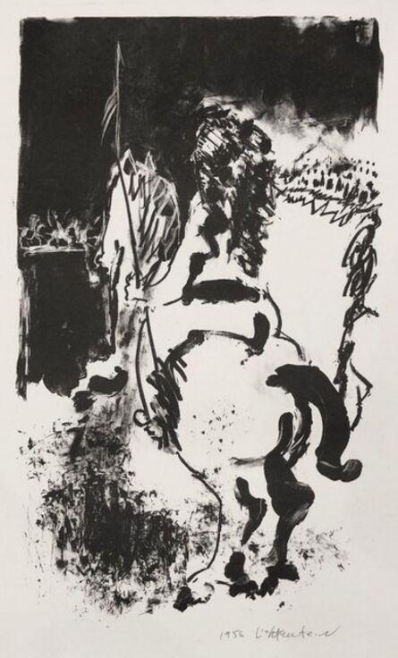 Roy Lichtenstein, 'Warrior on Horseback', 1956