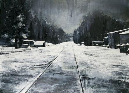 Mark Thompson, 'Footsteps Brushed Over', 2010
