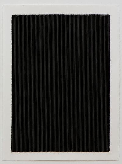 Linnea Glatt, 'Black Pinstripe', 2016