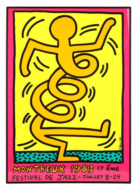 Keith Haring, 'Montreux Festival De Jazz 1983'