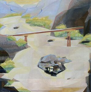Jehangir Sabavala, 'The Bridge', 2004