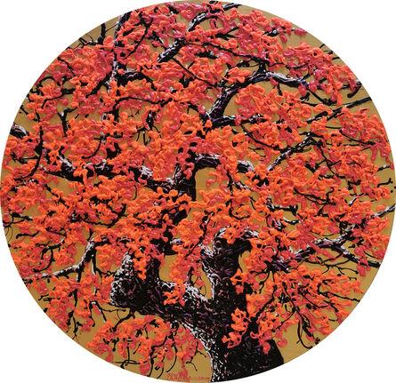 Soe Soe, 'Red Bloom', 2019