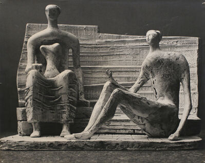 Henry Moore, 'Preliminary Ideas for Unesco Sculpture', 1956