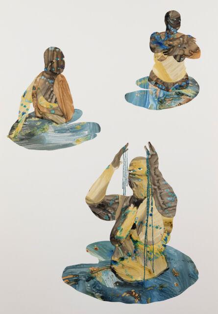 Florine Demosthene, 'Entrance To the Garden', 2021
