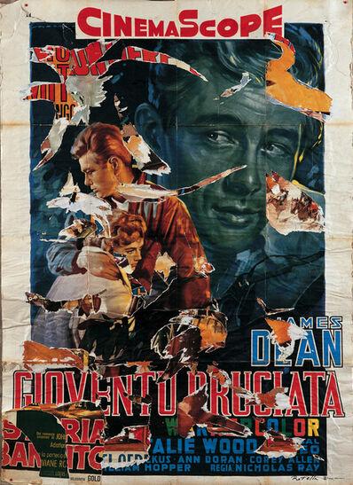 Mimmo Rotella, 'Gioventù bruciata', 2004