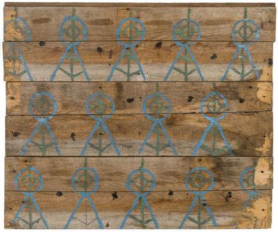 Emery Blagdon, 'Untitled (Barn floor boards)', ca. 1955