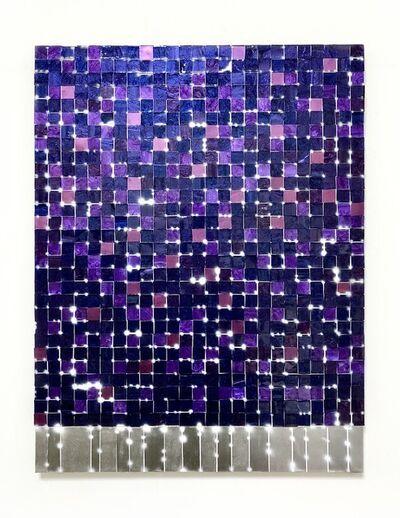 Katsumi Hayakawa, 'Purple Grid', 2020