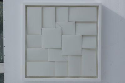 Peter Weber, '4 Quadrate im Zentrum ', 2016
