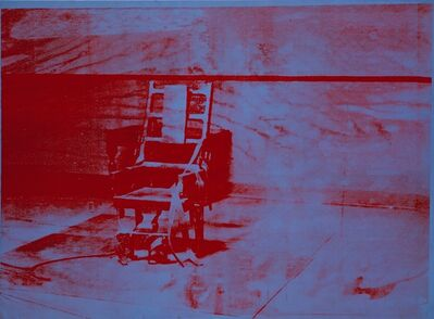 Andy Warhol, 'Big Electric Chair', 1967