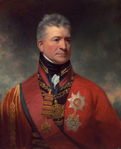 Sir William Beechey, 'Lieutenant-General Sir Thomas Picton', 1815/1817