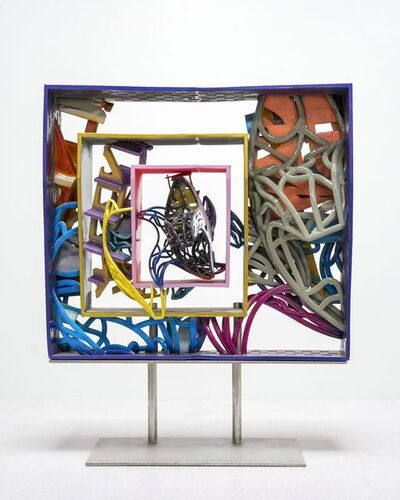 Frank Stella, 'Framed Model for the Frigate Macedonian HBM and the Frigate United States 2', 2018