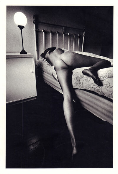 Jeanloup Sieff, 'Nude on Bed', 1969
