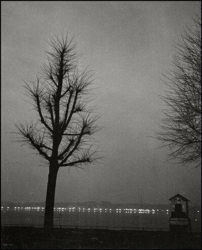 Herbert List, 'Sunset at Uhlenhorst. Hamburg, Germany', 1932