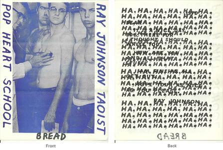 Ray Johnson, 'Mail Art + Ephemera, Dear Raphael Rubinstein at Art In America (Taoist Pop Heart School, Chest Exam)', ca. 1995