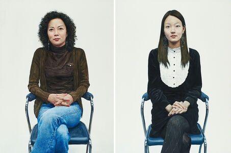 Lee Kwang-Ho (b. 1967), 'Two works of art: Na Su-Mi; Kim Yeo-Woon'